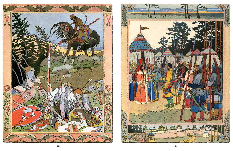 Russian Fairy Tales (Illustrated): Alexander Afanasyev, Ivan ...
