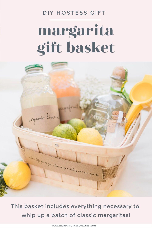 Diy margarita gift basket classic margarita recipe