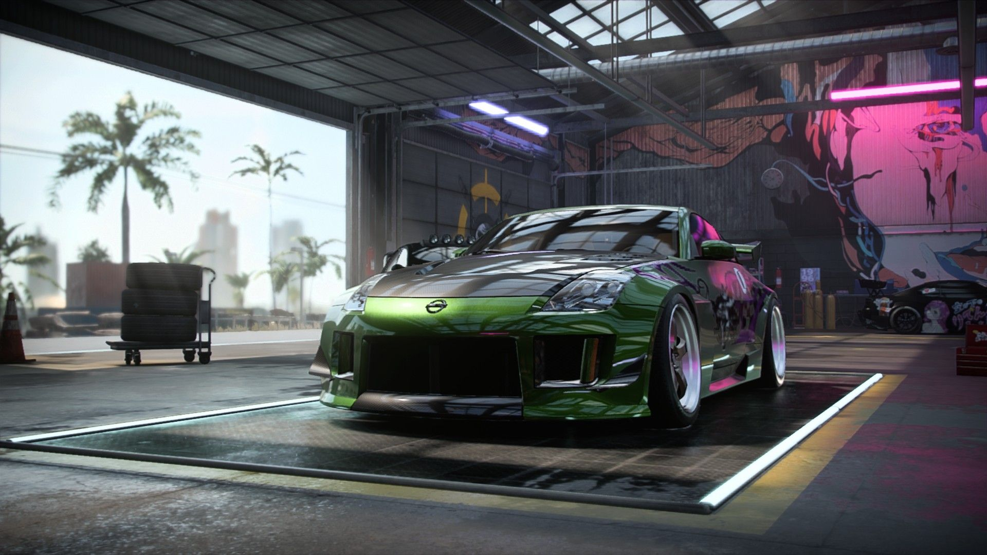 Nissan 350z Rachel S From Nfsu2 2003 Coupe From Need For Speed Heat Nissan 350z Need For Speed Heat Need For Speed Cars