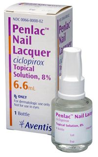 Ciclopirox Nail Lacquer Cure Rate Toenail Fungus Antifungal Treatment