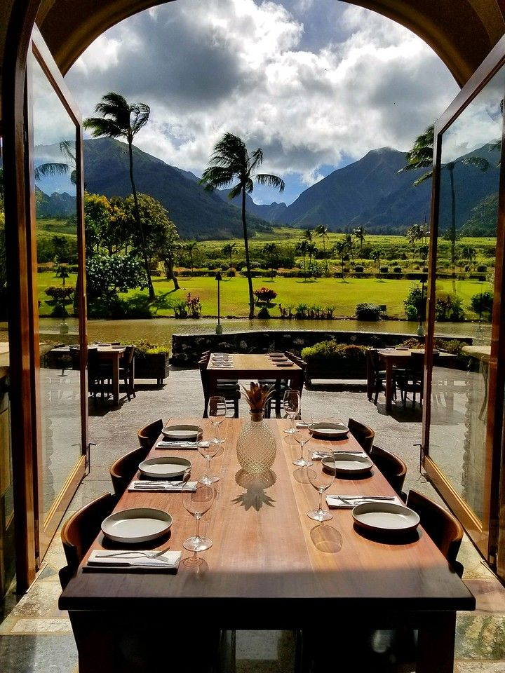 Table with a view? All we are missing is you! Mill House