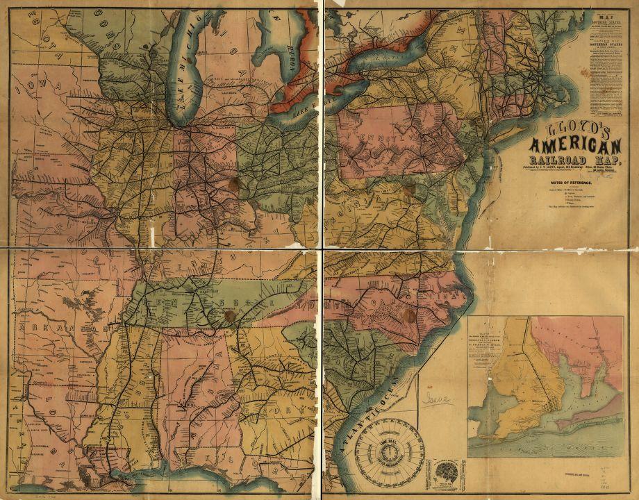 English Colonial Map Near Ohio River