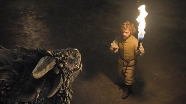 Tyrion and the dragons