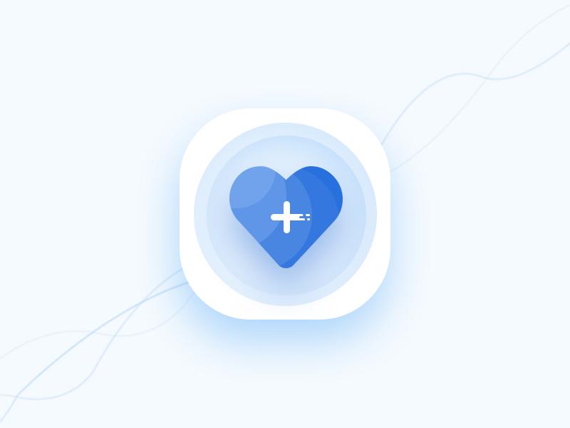 Health care app icon