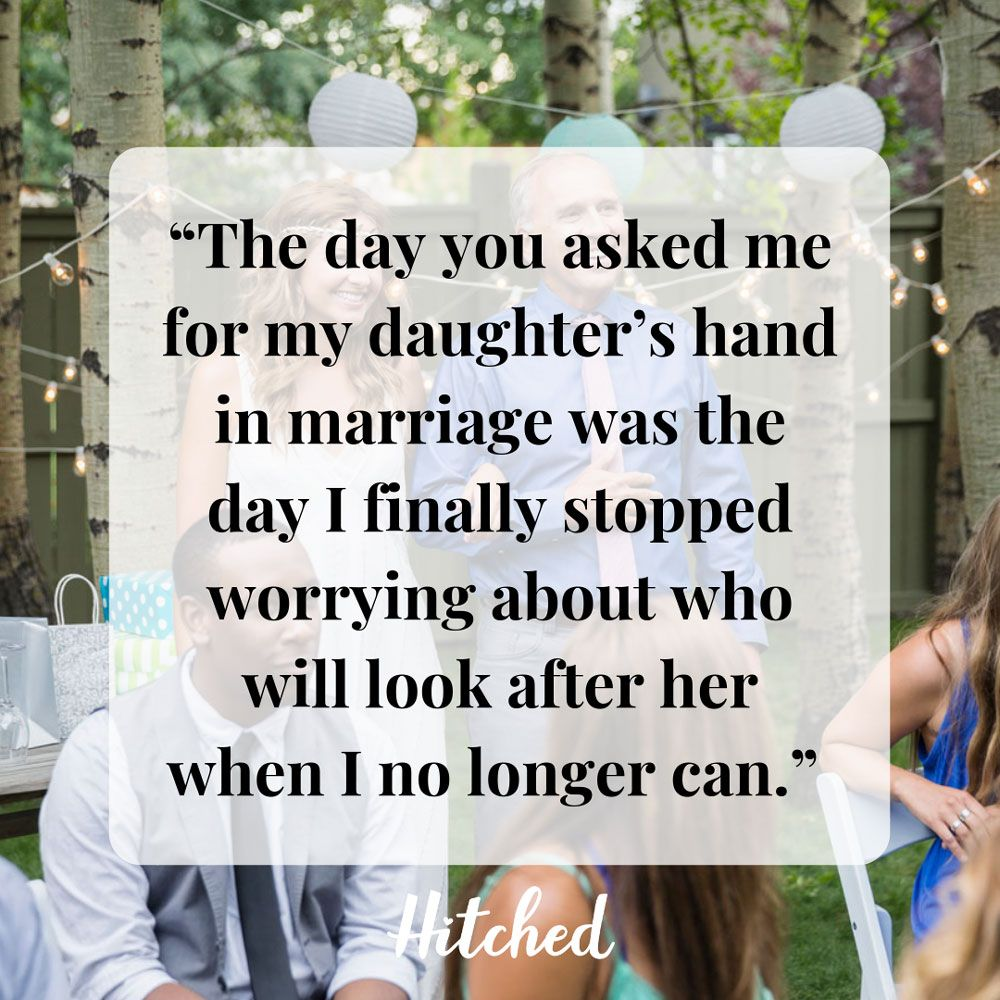 23 Tear-Jerking Father Of The Bride Speech Quotes And