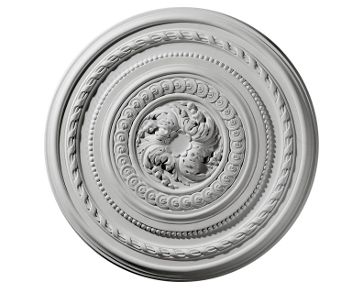 26 1/4in.OD Pearl Ceiling Medallion No Finish