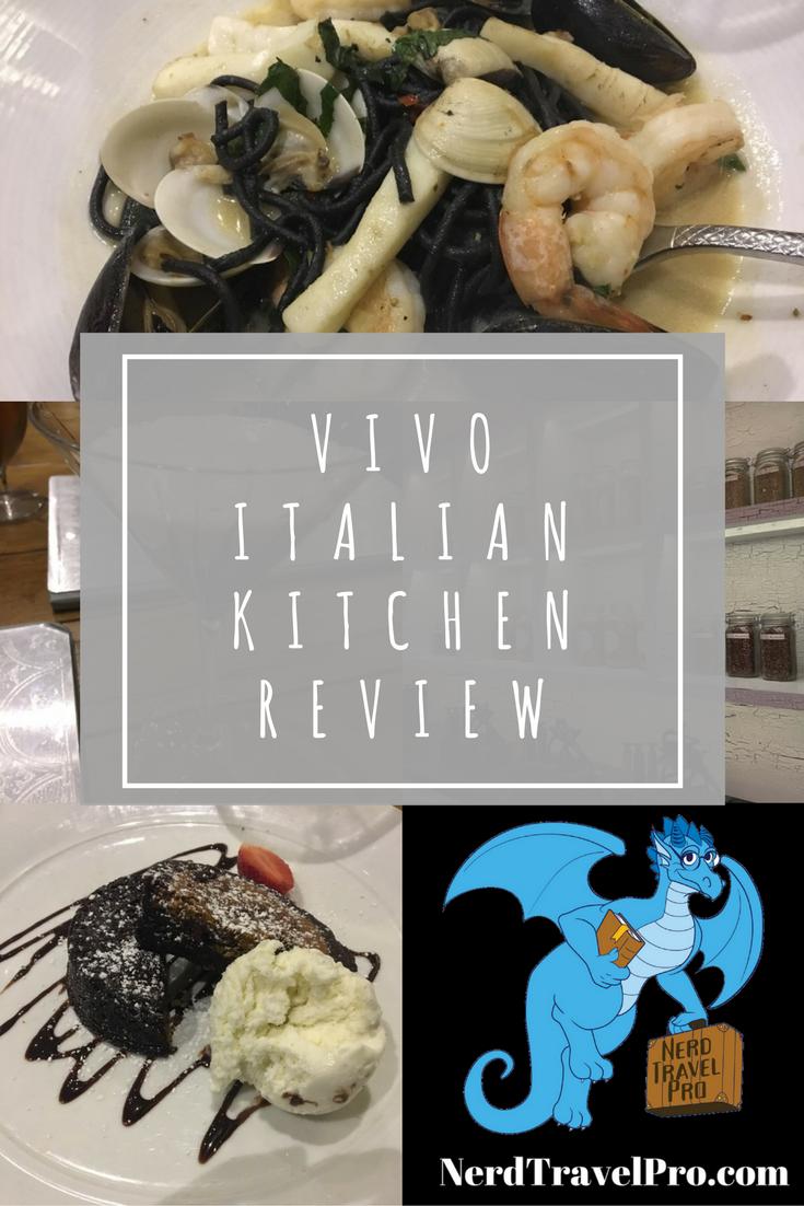 Dining At Universal Vivo Italian Kitchen Italian Kitchen