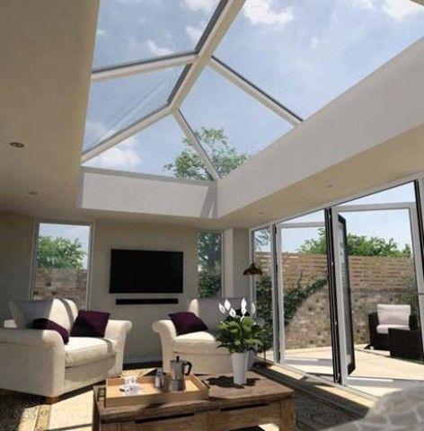 Ultrasky 4m X 2m Roof Lantern Aluminium In 2019 Roof