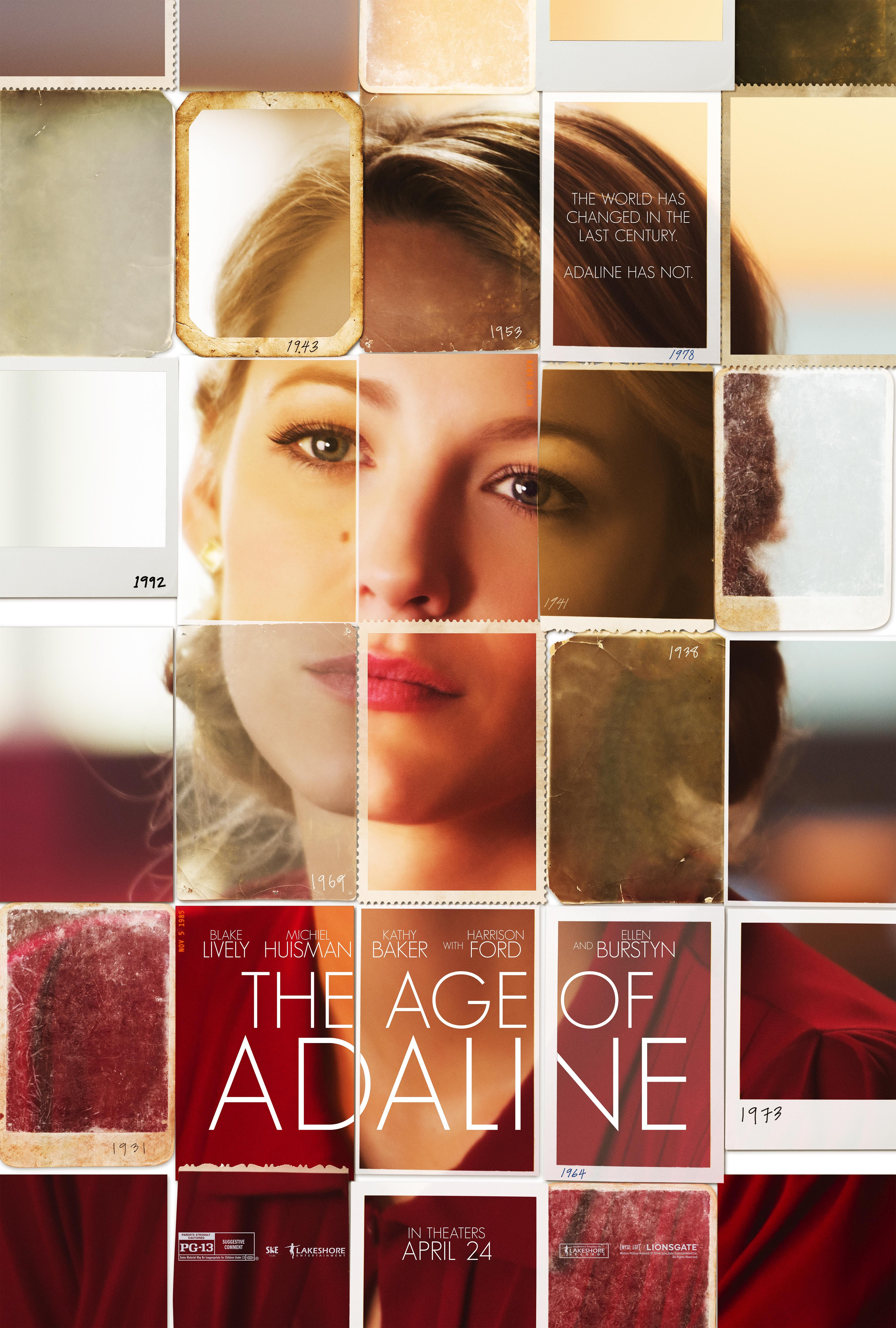 """""""The Age of Adaline"""" staring Blake Lively. Coming out next year(2015) Looks like a good one."""