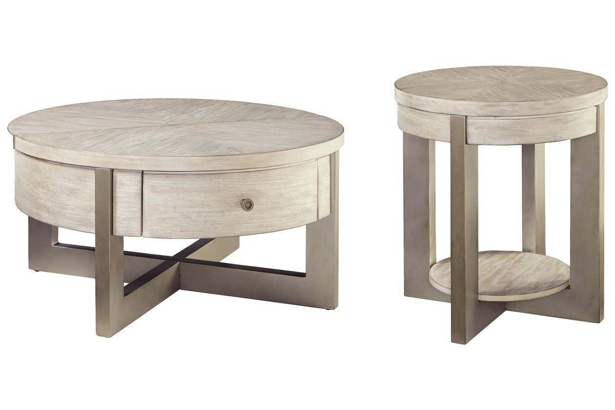 Urlander Coffee Table With 1 End Table Ashley Furniture Homestore Coffee Table Coffee And End Tables End Table Sets [ 840 x 1260 Pixel ]