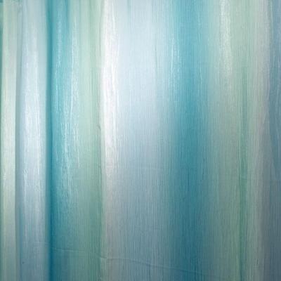 Interdesign Ombre Print Shower Curtain In Blue Green 35804 Green