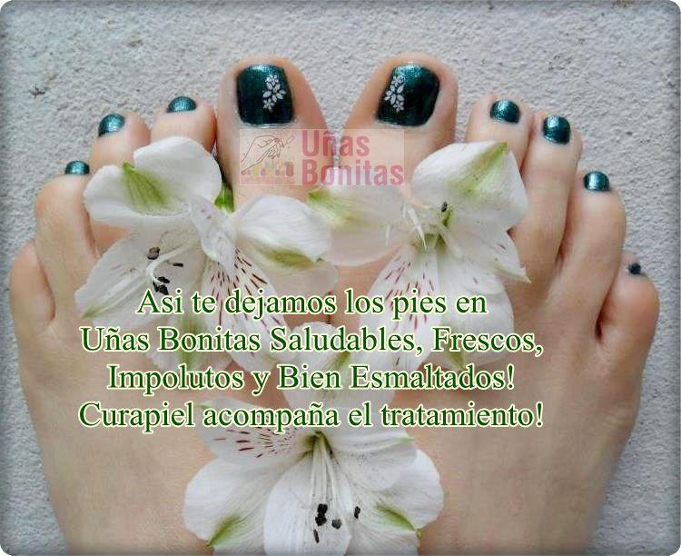 Asi te dejamos los pies en Uñas Bonitas Saludables, Frescos ...
