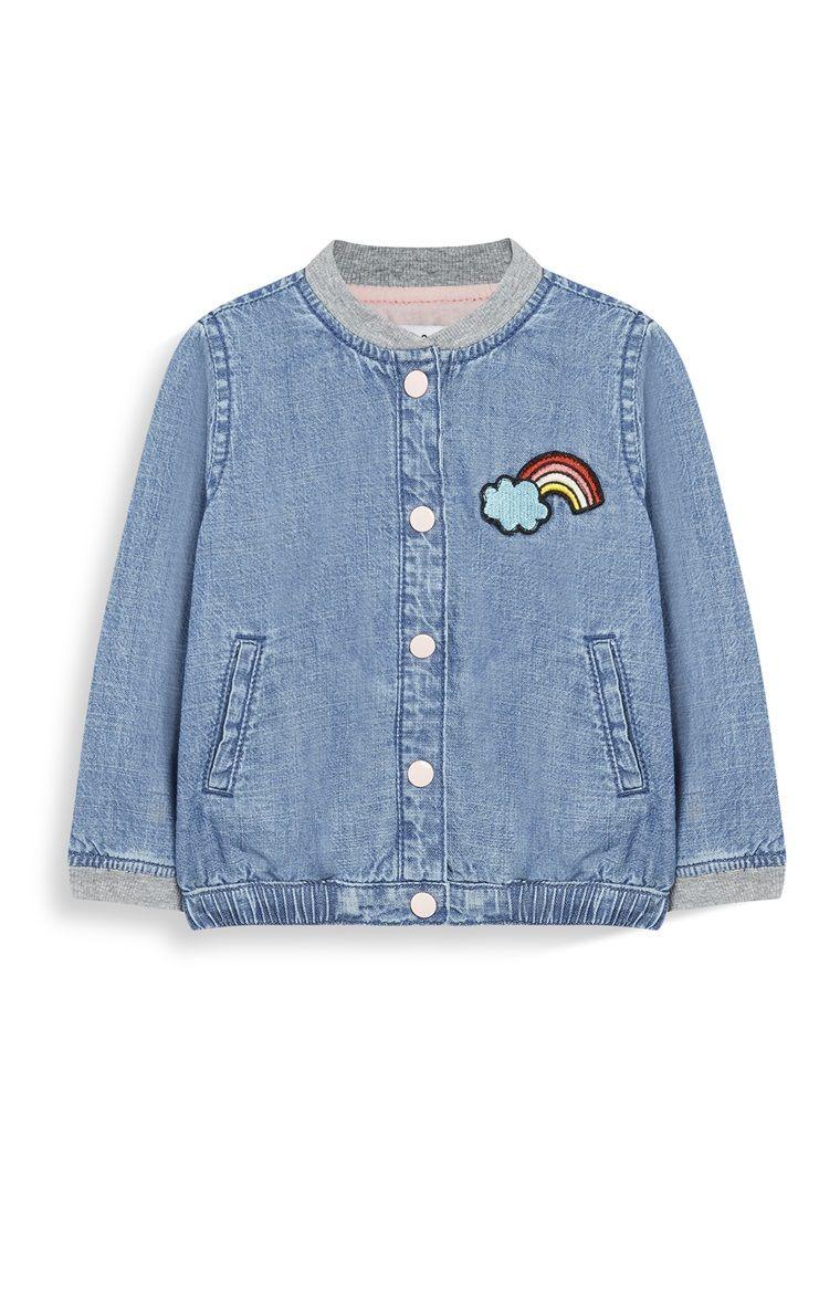 062c33ee8 Chaqueta vaquera azul de niña mayor | ○ Baby swag! | Chaqueta ...