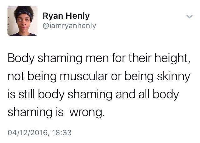 Guy-Positive Tumblr Thread Defends Men That Get Body-Shamed