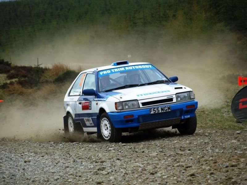 Mazda 323 rally car - Group A | Hey Rally, Rally!!! | Pinterest ...