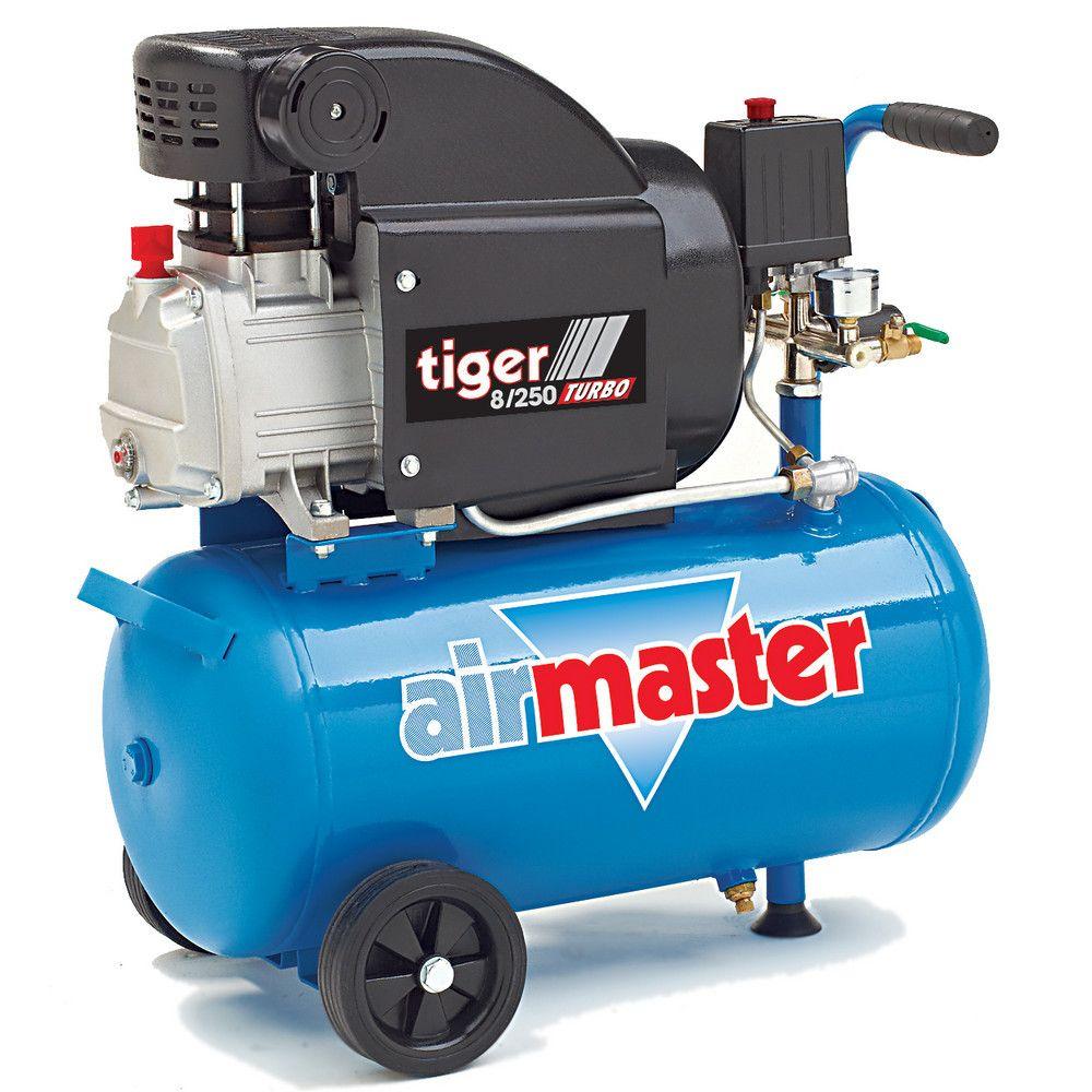 Airmaster 8/250 2hp 24l Air Compressor Garage