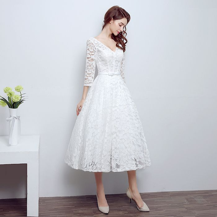 ▷ 1001 + Ideen und Inspirationen für ein Vintage Hochzeitskleid ...
