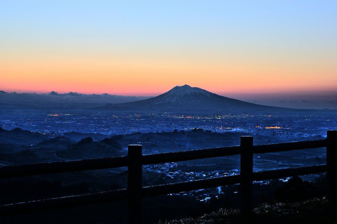 Mt. Iwaki a.k.a. Tsugaru-Fuji in Aomori.