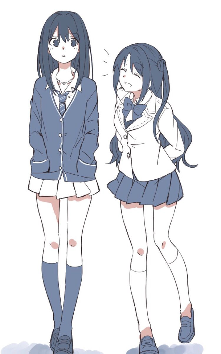 reminds me of my best friend and our friendship   anime