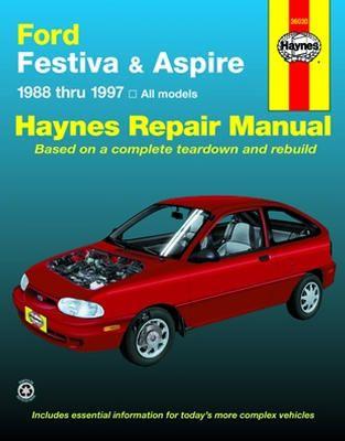 Ford Festiva 1988 1993 Ford Aspire 1994 1997 Haynes Repair Manual Ford Festiva Repair Manuals Repair