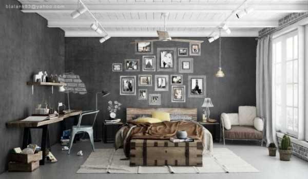 bedroom-decorating-industrial-style | GLACIER GRAY: Spring 2015 ...