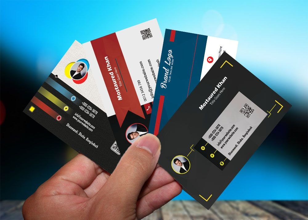 Create awesome business card or visiting card   Business cards ...