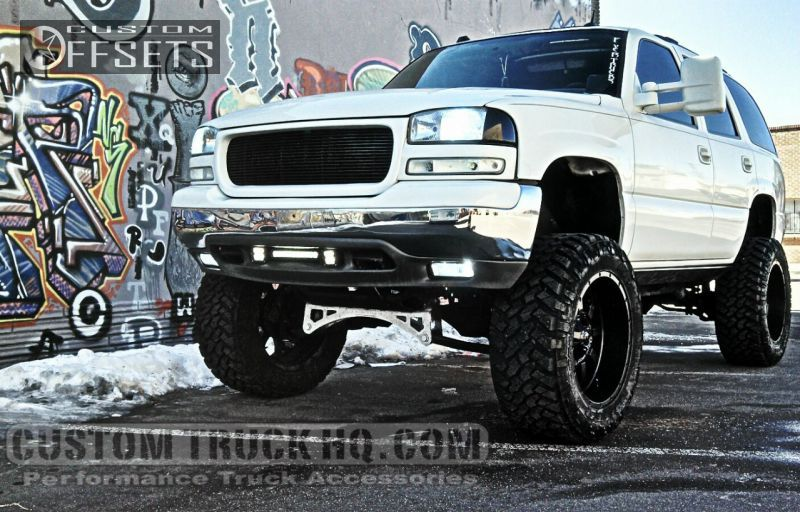 2004 White Custom Yukon Xl Google Search Monster Trucks Yukon Gmc Trucks