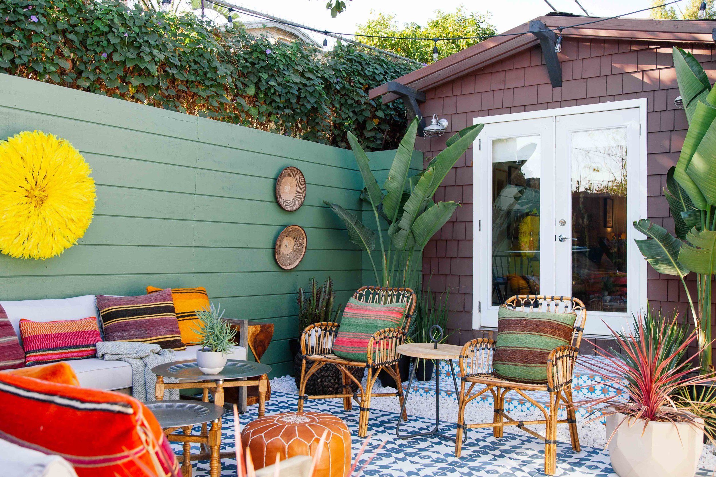 One Room Challenge Fall Patio Reveal Old Brand New