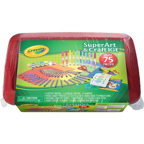Crayola Super Art u0026 Craft Kit - Red - Crayola ...  sc 1 st  Pinterest & Crayola Super Art u0026 Craft Kit - Red - Crayola - Toys