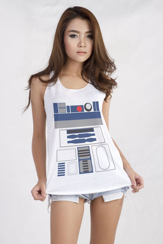 R2D2 Star Wars Movie Outfit Teen Women Fashion Trends
