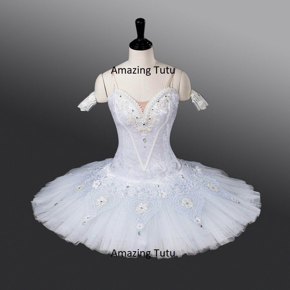 Amazing new snow Professional Classical Ballet Tutu Dance Exclusive Costume