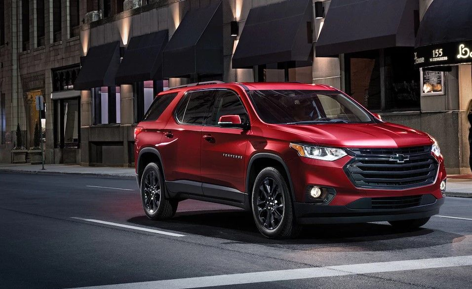 2018 Chevrolet Traverse Luxury Suv Mynewdrive Com Pinterest