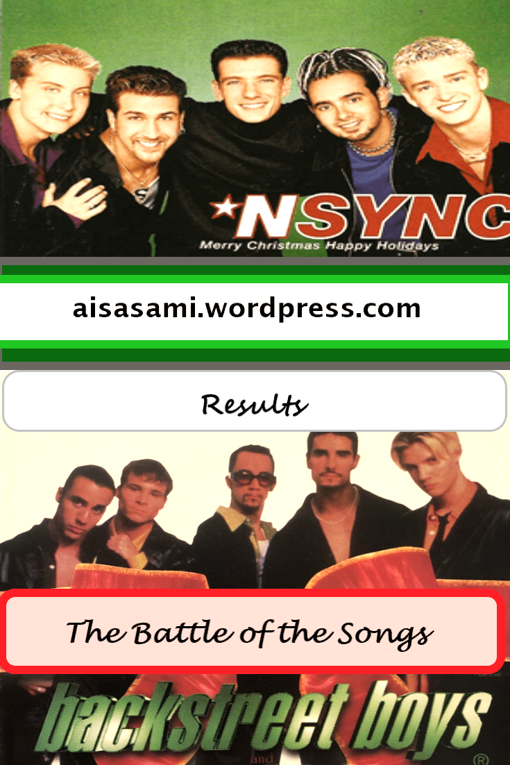 Results For The Ultimate Christmas Battle Of The Songs By 90s Boy