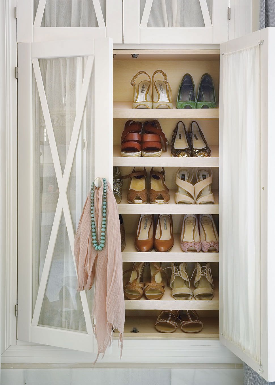 Aprende A Guardar Bien Tus Zapatos Shoes Zapatera Closet