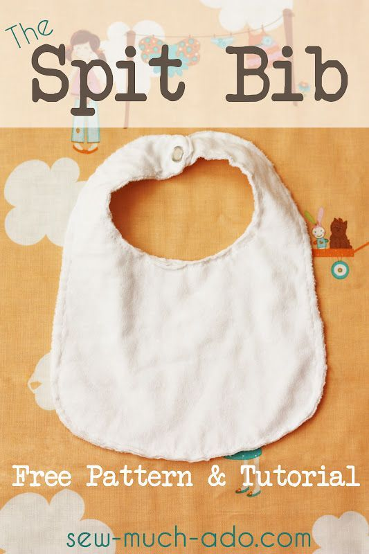 Spit Bibs Free Pattern and Tutorial - perfect for a drooly baby ...