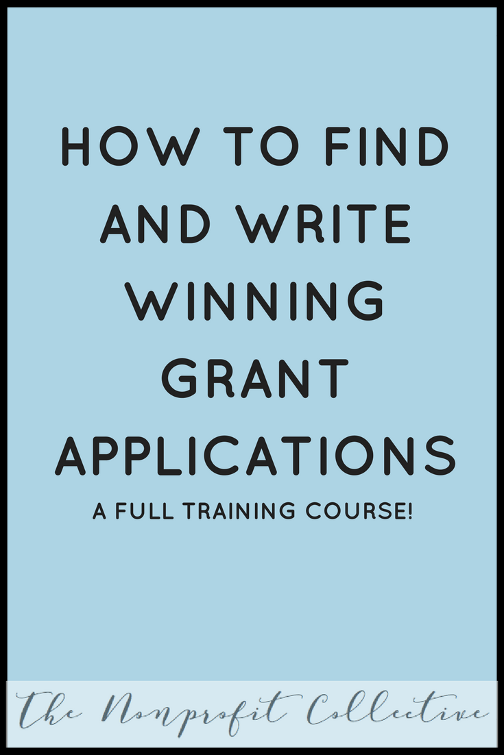 Learn how to write grants through this Grant Writing Master