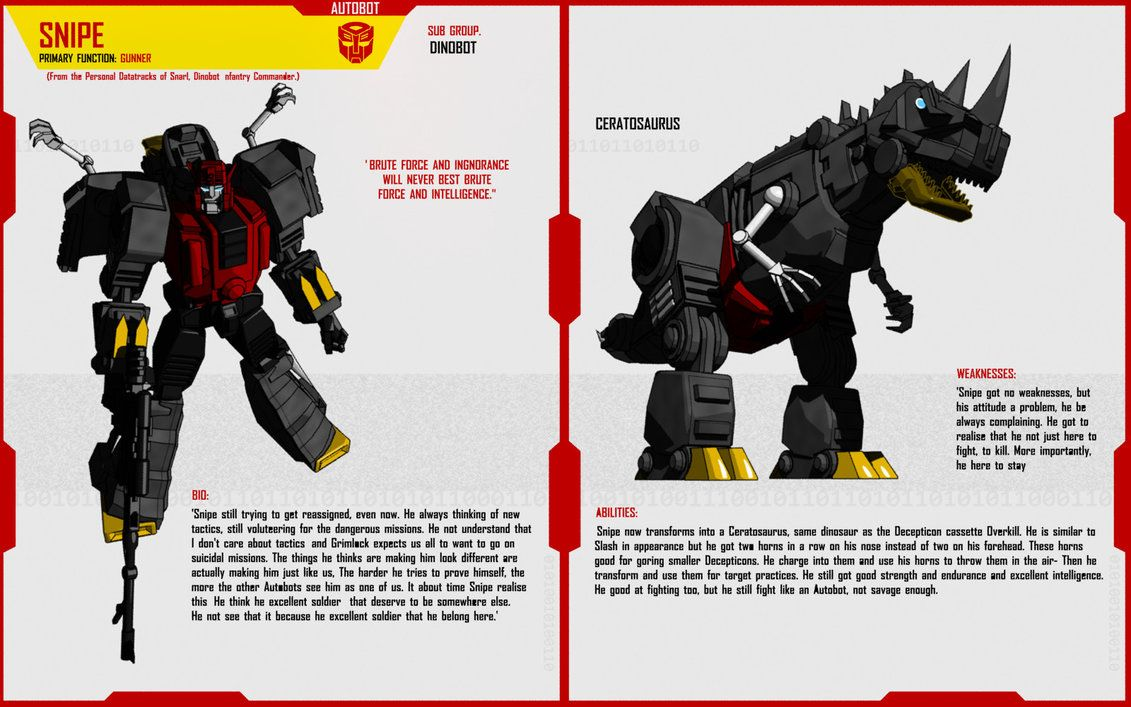 Another dimensions answer to Grimlock! He somehow crossed