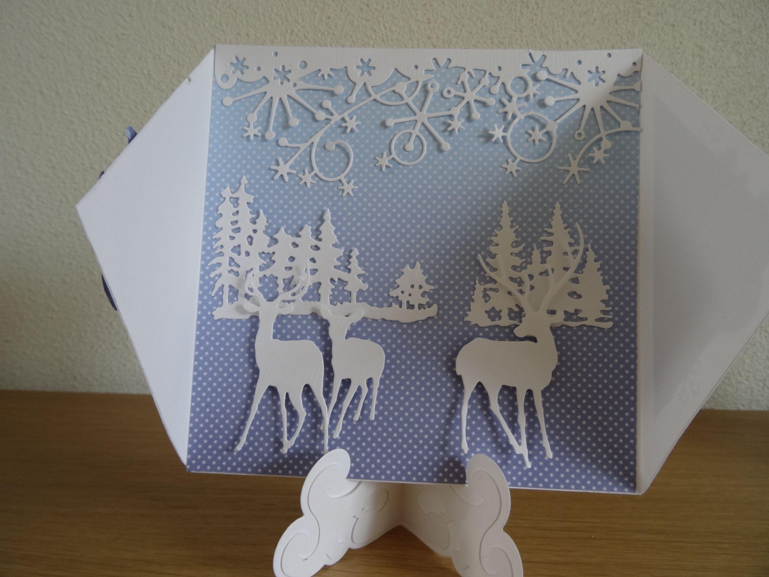 binnenkant,winter/kerstkaart