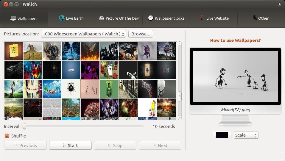 The 10 Best Linux Wallpaper Changer Software In 2020 Linux Wallpaper App Wallpaper