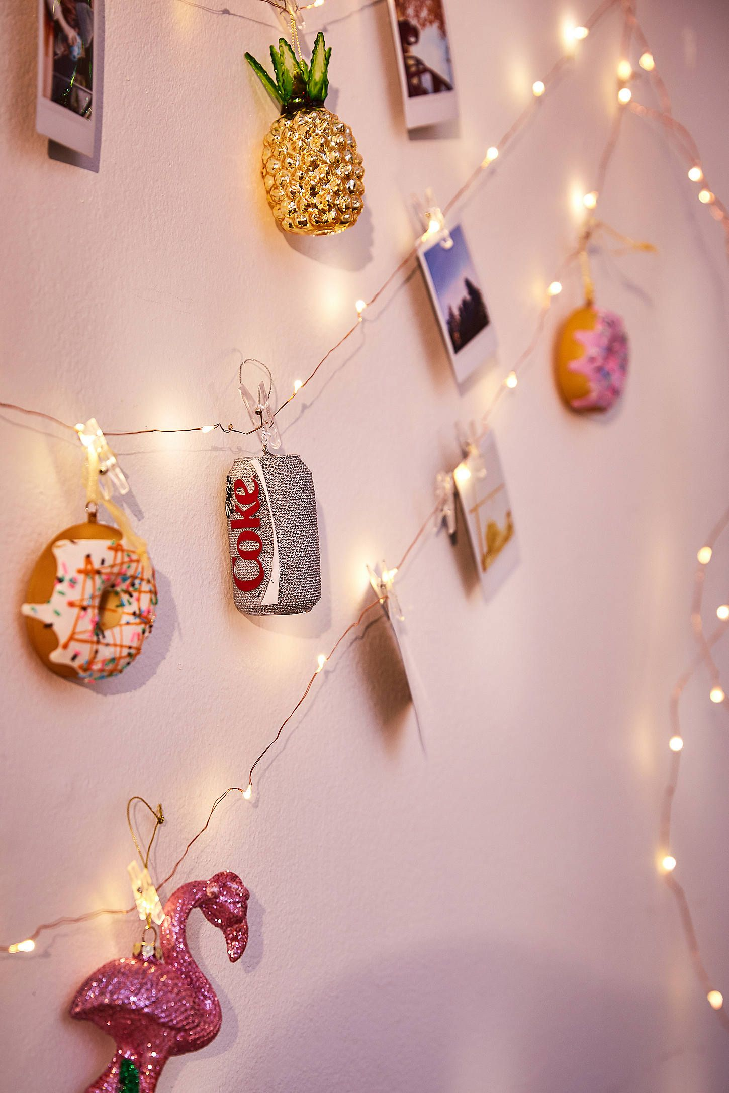 String Lights With Clips Photo Clip Firefly String Lights