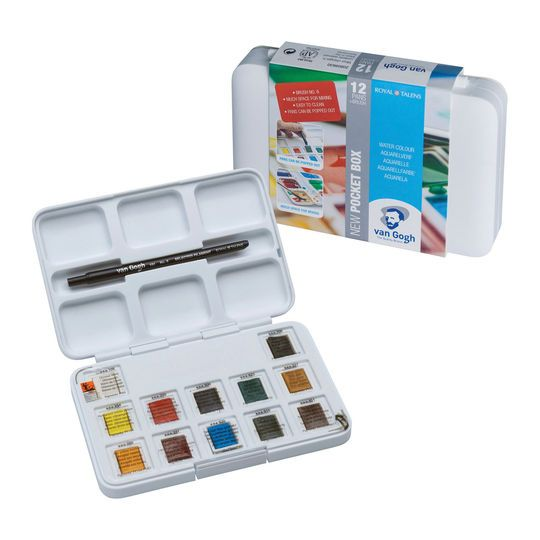 Royal Talens Van Gogh Watercolor Pocket Box Set Van Gogh