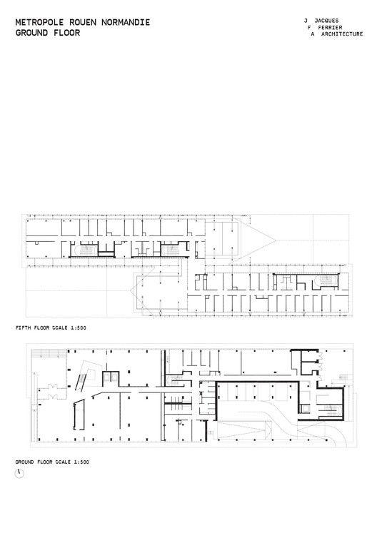 gallery of headquarters of m tropole rouen normandie jacques ferrier architecture 21. Black Bedroom Furniture Sets. Home Design Ideas