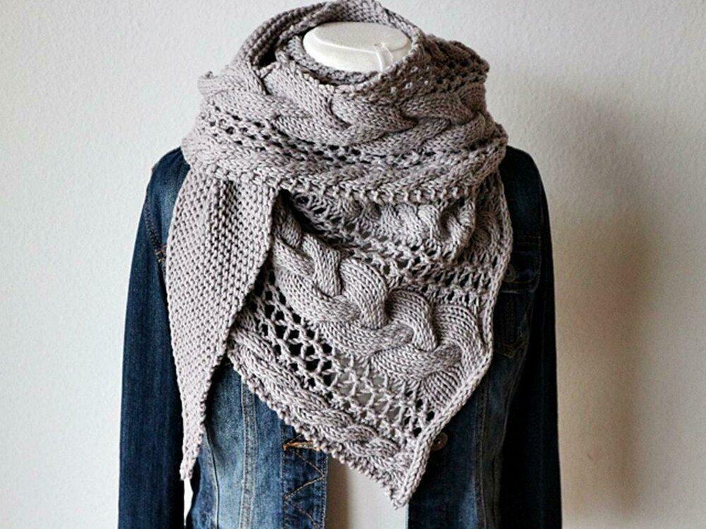 Photo of Cozy Winter Knitting pattern by Melanie Mielinger #strickmuster schal deutsch Co…