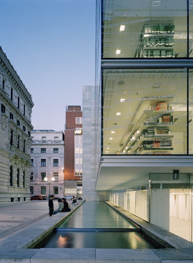 Galer a de biblioteca foral de vizcaya imb arquitectos - Estudios arquitectura bilbao ...