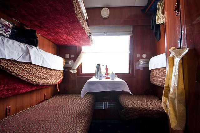 First Class Berth Trans Siberian Railway Trans Siberian Railway Trans Siberian Railway