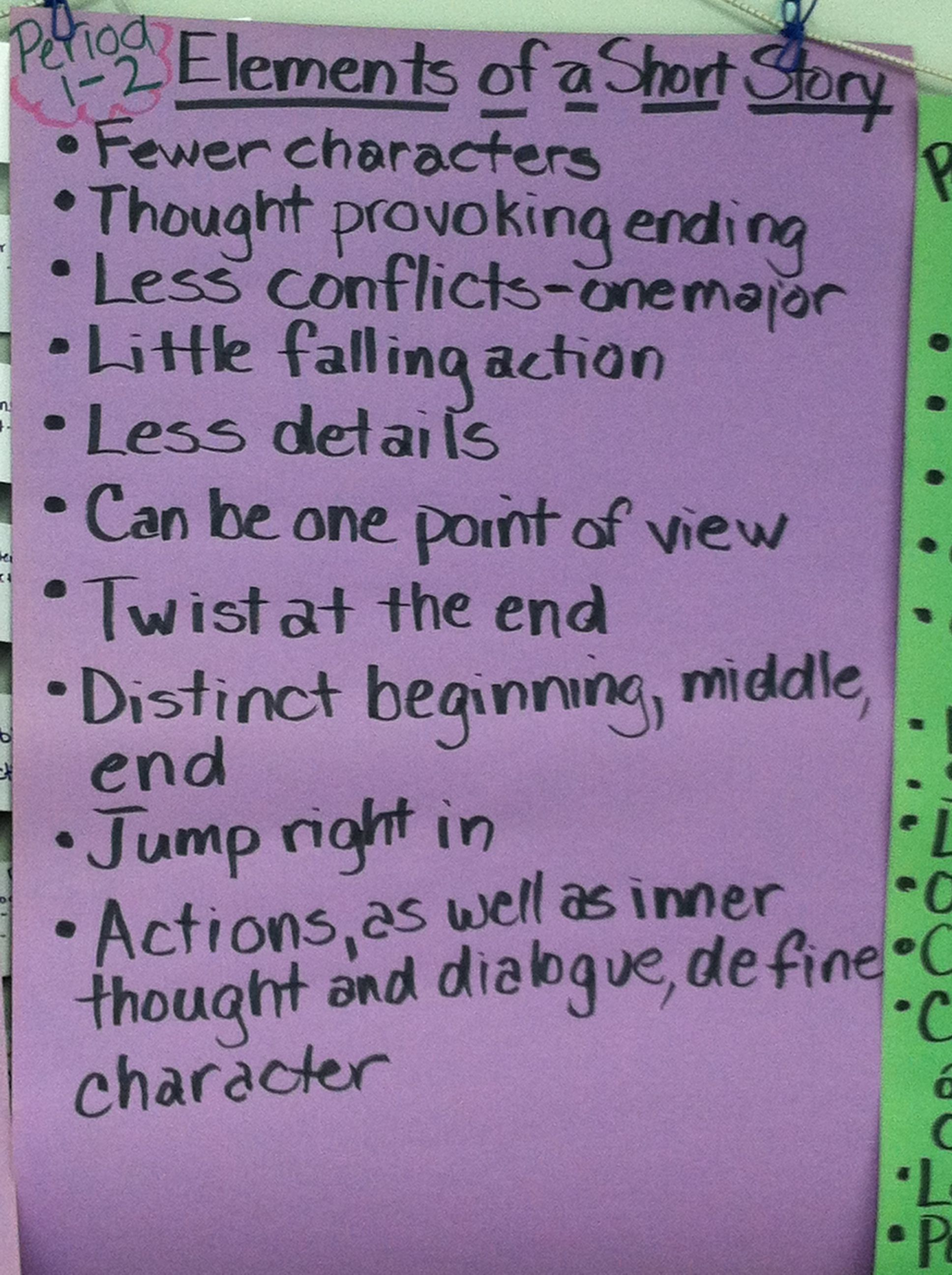 Elements Of A Short Story By Period1 2