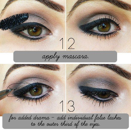 How To Wear Dark Lipstick...How to do eyeliner (liquid)Step by ...