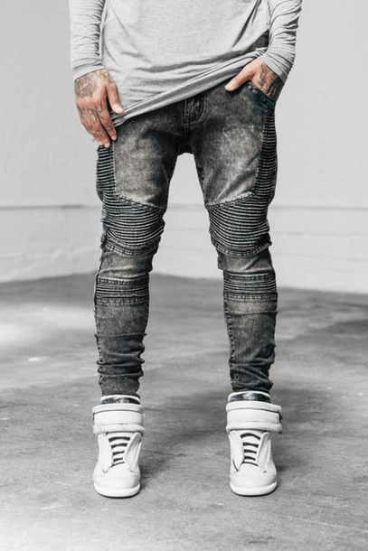06ddb1d8681c shoes tumblr clothes dope urban street grey jeans menswear urban menswear  mens sportswear jeans fashion