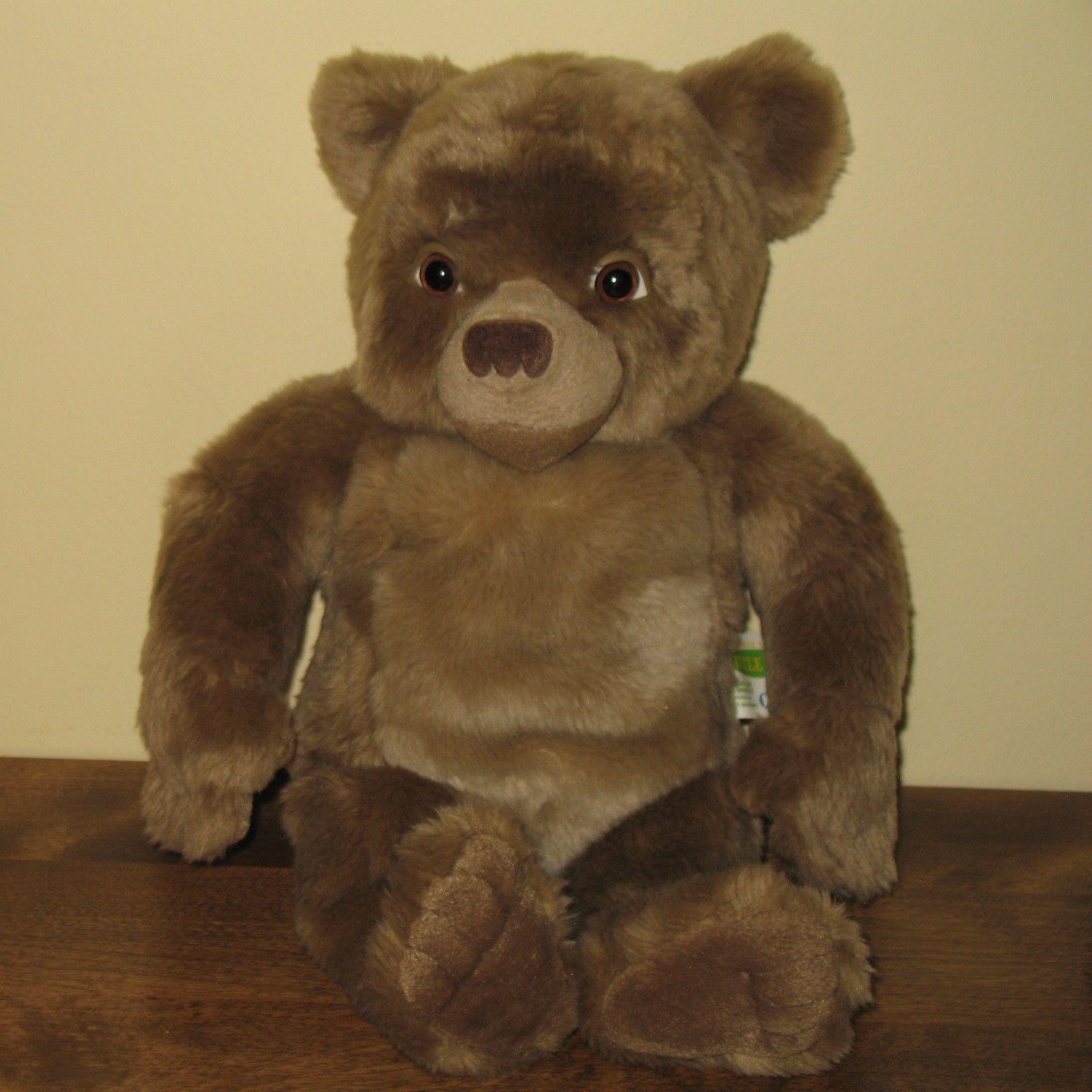Maurice Sendak Little Bear Plush Kidpower Talking Stuffed