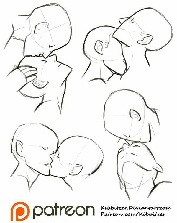 Couple Two People Relationship Kissing Kiss Lips Neck Head